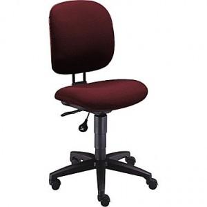 HON Comfortask Multi-Task Fabric Swivel/Tilt Chair, Burgundy