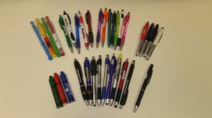Misprint Pens, Stylus, LED, Pencils, Highlighters & Hand Sanitizer!