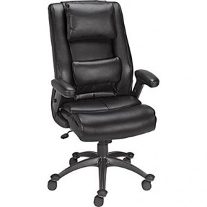 Elworth Bonded Leather Task Chair, Espresso