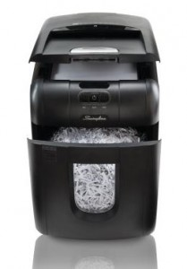 Swingline Stack-and-Shred 100X Hands Free Shredder