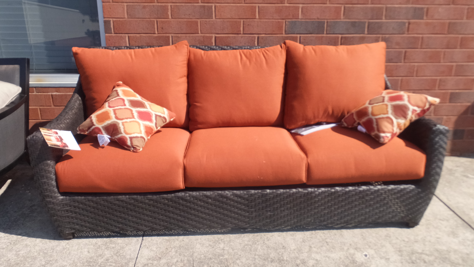 Outdoor patio furniture sale 50 off retail many pieces for Furniture 50 off