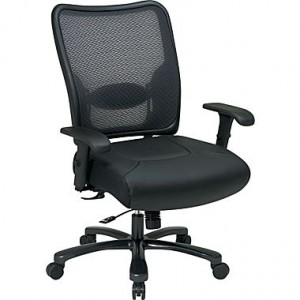 Office Star SPACE Big and Tall Air-Grid Mesh Back Task Chair