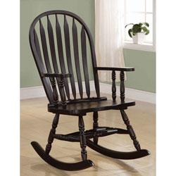 Coaster Rocker Chair, Cappuccino
