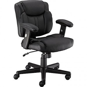 Telford II Luxura Managers Office Chair, Black or Brown