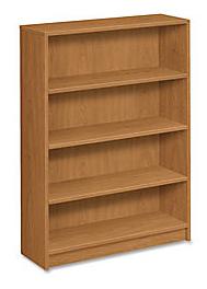 HON 1870 Series Bookcase 4 Shelves Harvest