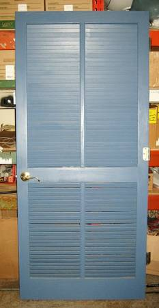 Louvered Interior Doors 36 X 80 10 00 Each A