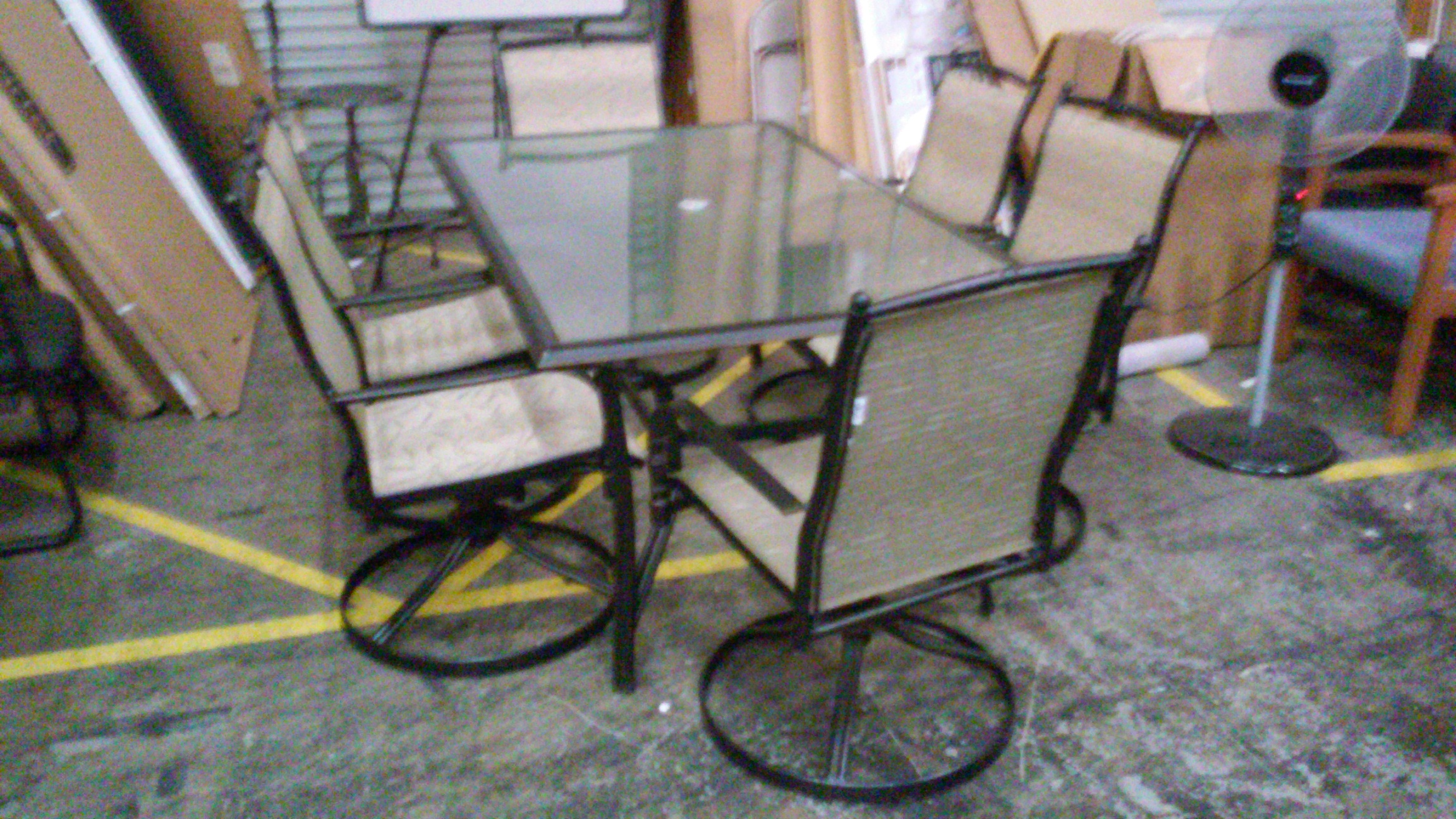 Dining Patio Set With Swivel Chairs 369 99 Altamira 7 Piece 3 300x169 Jpg 2