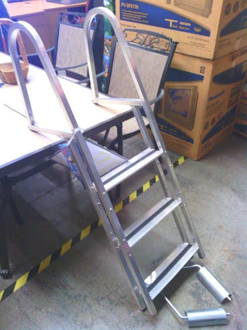 Dock Edge Kwik Release Aluminum Stand Off Ladder 99 99