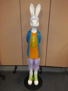 Allan Agohob Bunny Rabbit Sculpture