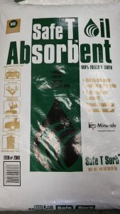 Safe T Sorb Oil Dry Absorbent 40lbs